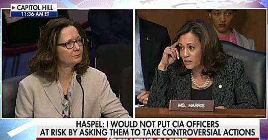 'Answer Yes or No': Kamala Harris Grills CIA Nominee on Whether Interrogations Were 'Immoral'