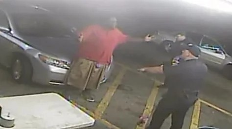 US cop sacked for shooting dead black man