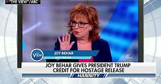 'I'm in a State of Shock': Hannity Highlights Behar Giving Trump Credit on N. Korea
