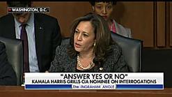 Bongino: Kamala Harris Questioned CIA Pick 'Like a Kindergartner'