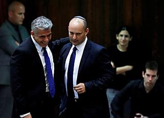 Israeli lawmakers to vote on new Bennett-Lapid government on Sunday