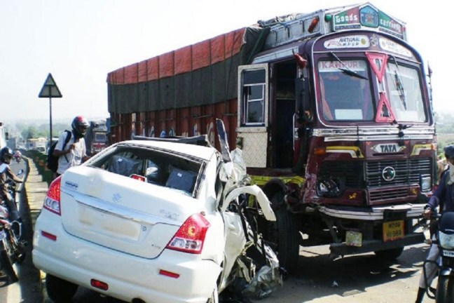 1,317 Accidents And 413 Deaths On Indian Roads Each Day In 2016