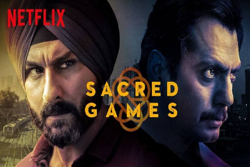 Best Hindi series on Netflix- Sacred Games