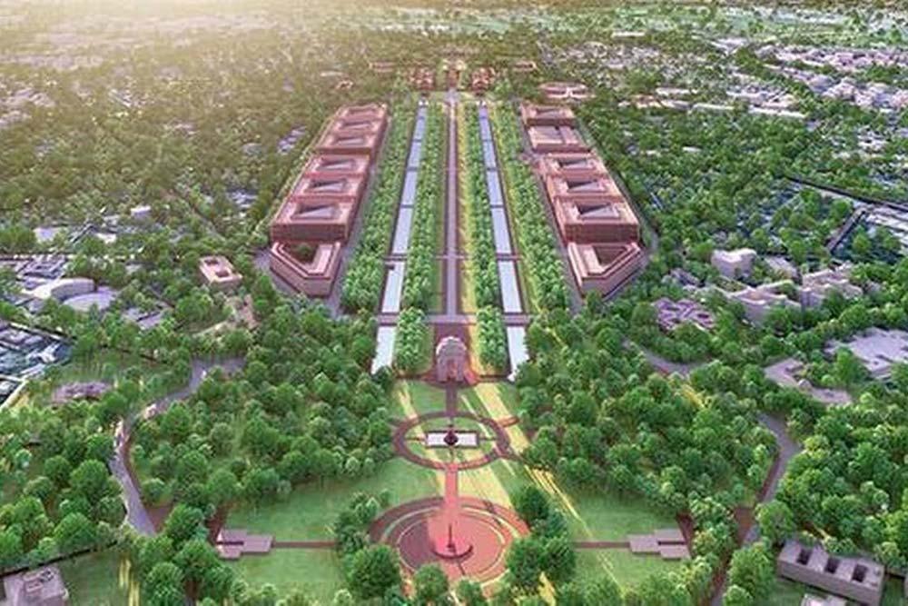 Modi New Home In Central Vista To Add 2000 More Crores