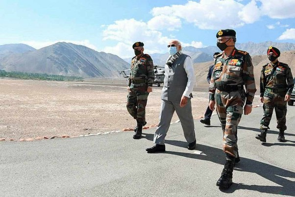 PM Modi's Surprise Ladakh Visit Has Silenced His Critics And Sent ...