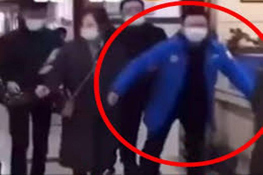 WATCH:Video Of Chinese People Walking Like Penguins After Covid Anal Swabs Goes Viral