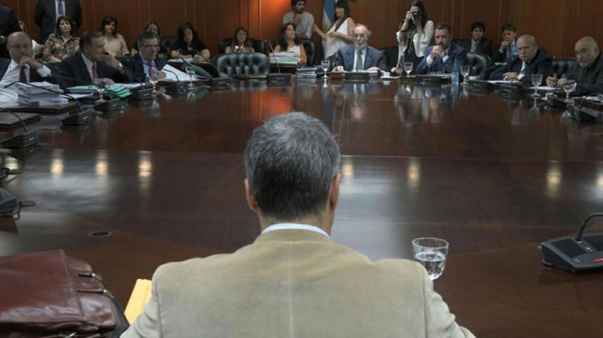 El juez federal Daniel Rafecas hizo su descargo ante la comisión de disciplina del consejo de la Magistratura