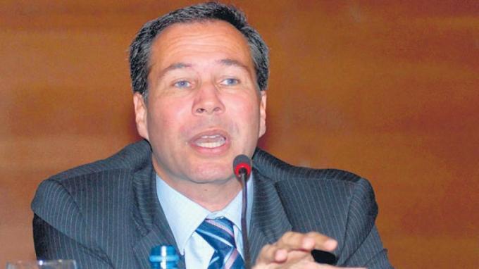 El fallecido fiscal Alberto Nisman.