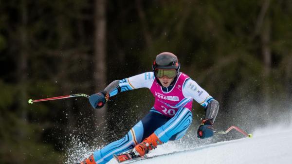 Tiziano Gravier ganó un diploma olímpico en los Juegos de la Juventud | El esquiador, hijo de Valeria Mazza, logró el séptimo puesto en Super G