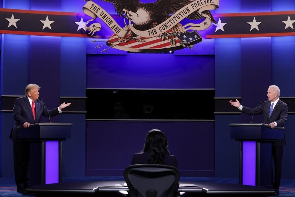 Los principales cruces entre Joe Biden y Donald Trump en el debate