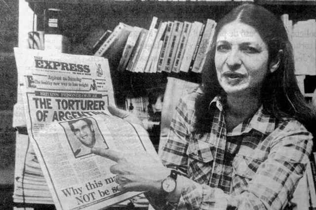 Sara Solarz de Osatinsky en 1985.