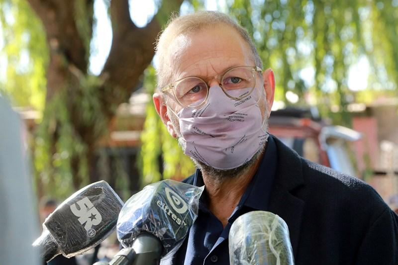 """""""El gobernador planteó que, si se cierran sectores, hay que hablar de asistencia"""", dijo Corach."""