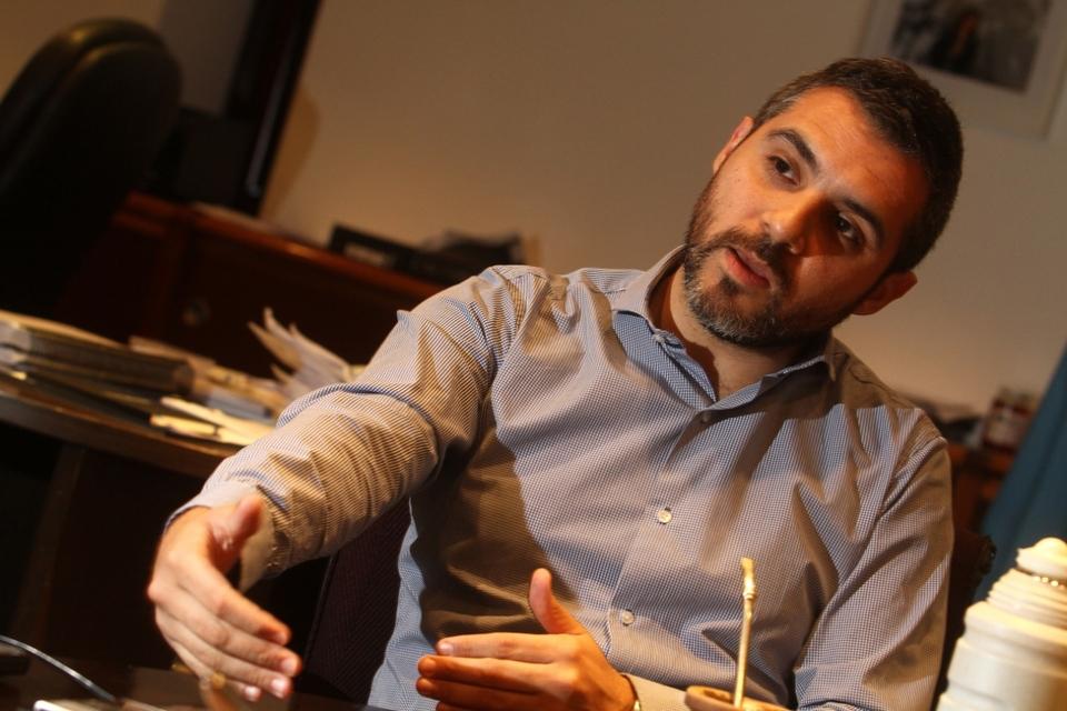 Cristian Girard, titular de ARBA (Fuente: Leandro Teysseire)