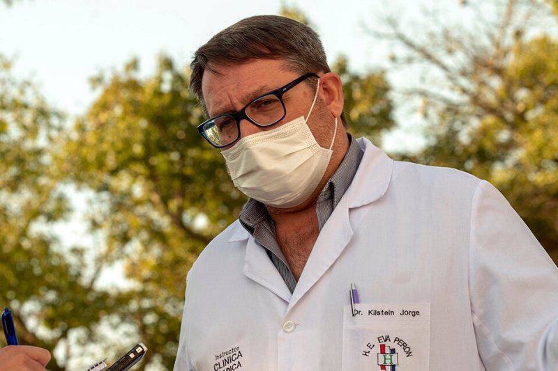 El director del hospital, Jorge Kilstein. (Fuente: Gentileza Rosario3)