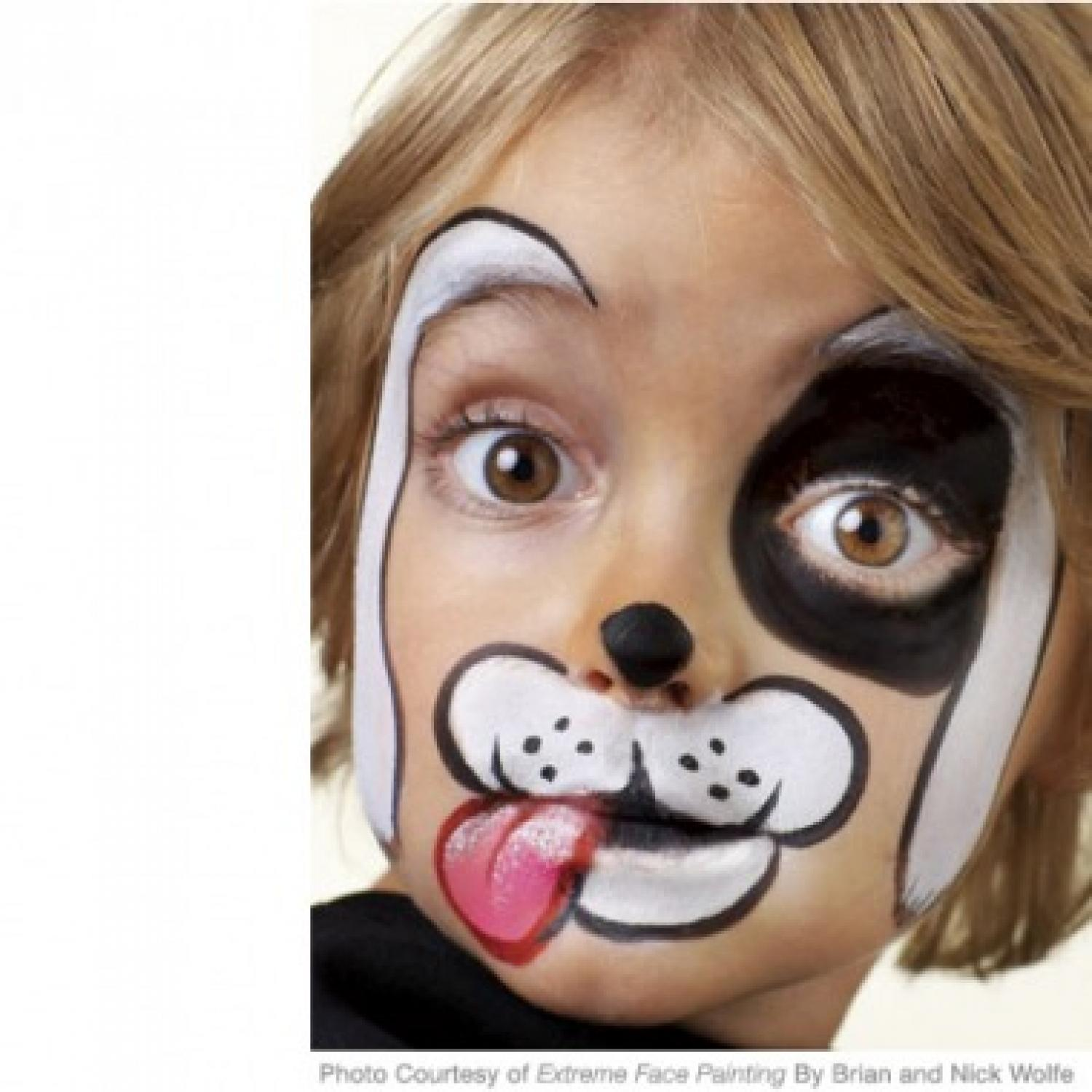 Face Paint Cute Halloween Signs