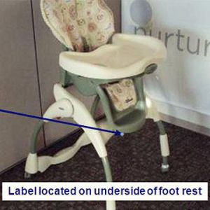 High Chairs   Parents Graco Recalls Harmony High Chairs Recalled recall image
