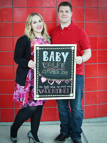 Our Favorite Valentines Day Pregnancy Announcements