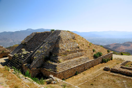 Pyramid Ruins of Monte Alban