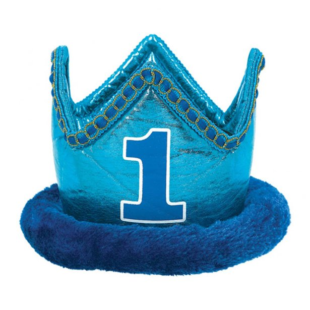 Boy S 1st Birthday Crown Party Delights