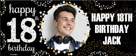Personalised 18th Birthday Banners Party Delights