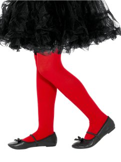 Red Tights - Child 4-6yrs