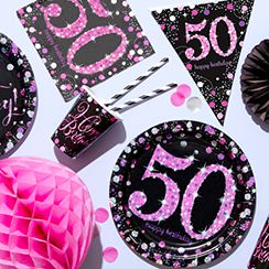 50th Birthday Party Supplies Ideas Party Delights