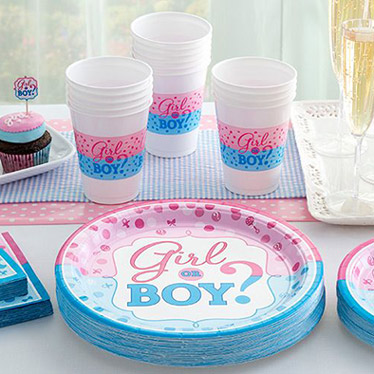 Gender Reveal Party Supplies Amp Decorations Party Delights