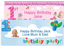 Personalised 1st Birthday Party Supplies Gifts Party Delights Party Delights