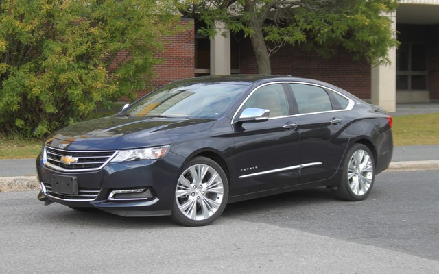 2013 Chevy Impala Specifications