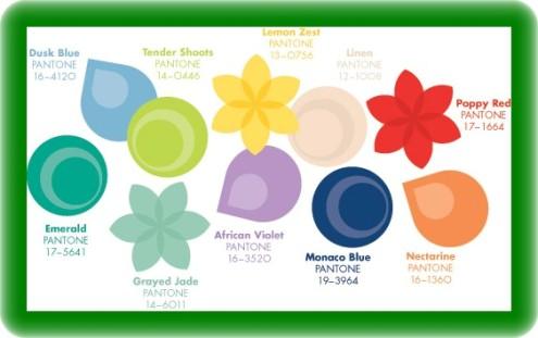 Pantone 2013 Trend Colors