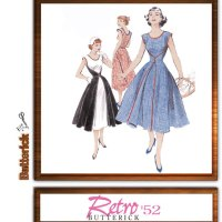"Butterick 4790 (repro 1950's dress, aka ""The walkaway dress"")"