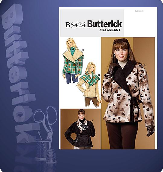 Butterick pattern B5424 jacket - winter jacket