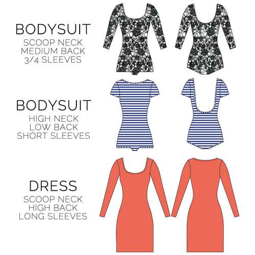 Image result for nettie bodysuit pattern