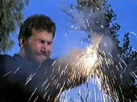 gun explodes
