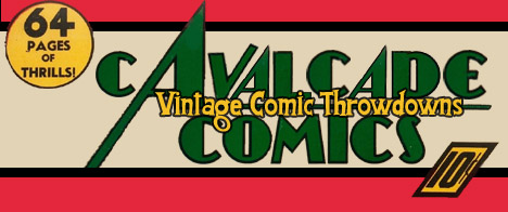 Cavalcade Comics Vintage Comic Throwdown