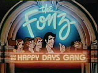 The Fonz and the Happy Days Gang