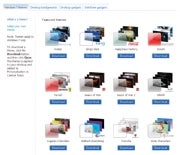 Downloadable Windows 7 themes