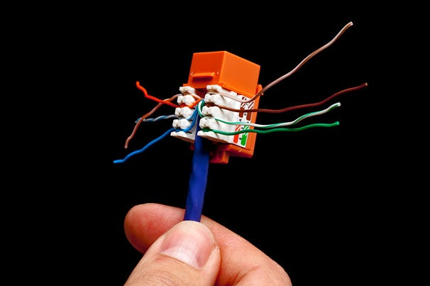 wire your home for ethernet  pcworld