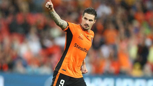 Jamie Maclaren has confirmed his exit from Brisbane Roar.