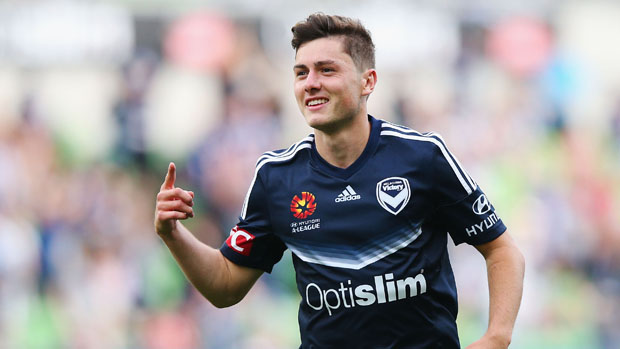 Marco Rojas starred as Victory downed City in the Melbourne Derby.