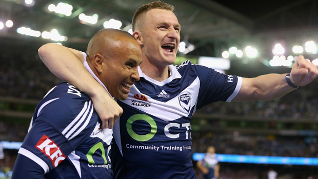 Archie Thompson is tipping Besart Berisha to notch his 100th Hyundai A-League goal against Sydney FC this weekend.