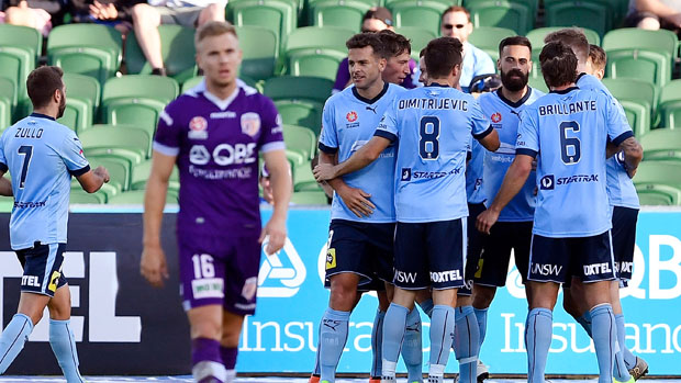 Sydney FC easily accounted for Perth Glory 3-0 on Sunday night.