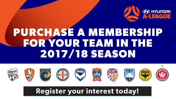 Hyundai A-League memberships are on sale now for the 2017/18 season.