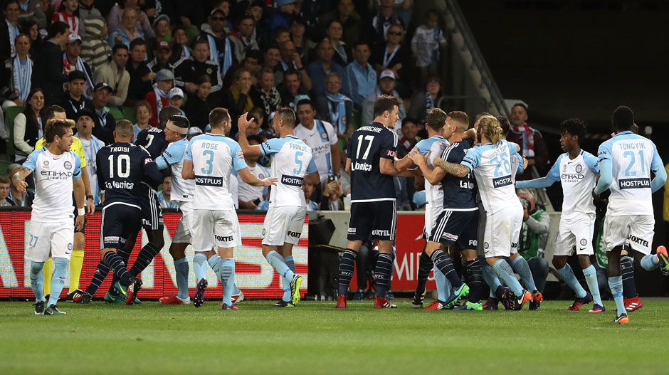 #MelbDerby - Melbourne City will be aiming to win a second derby in a single season for the first time in their Hyundai A-League history.