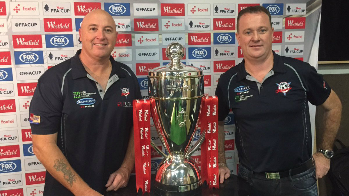 Peninsula Power will host Melbourne City in the Westfield FFA Cup Round of 32.
