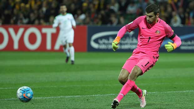 Caltex Socceroo keeper Mat Ryan was buoyed to see Australia found a way to win against a classy Saudi side on Thursday night