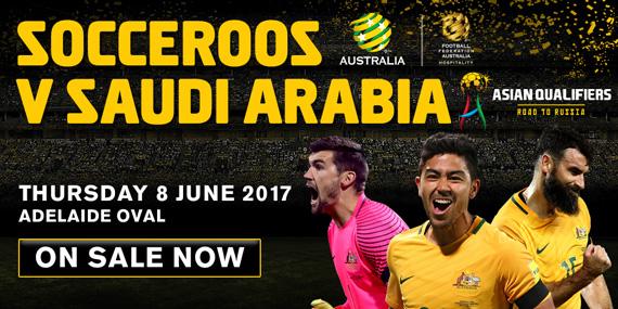 Socceroos v Saudi Arabia.