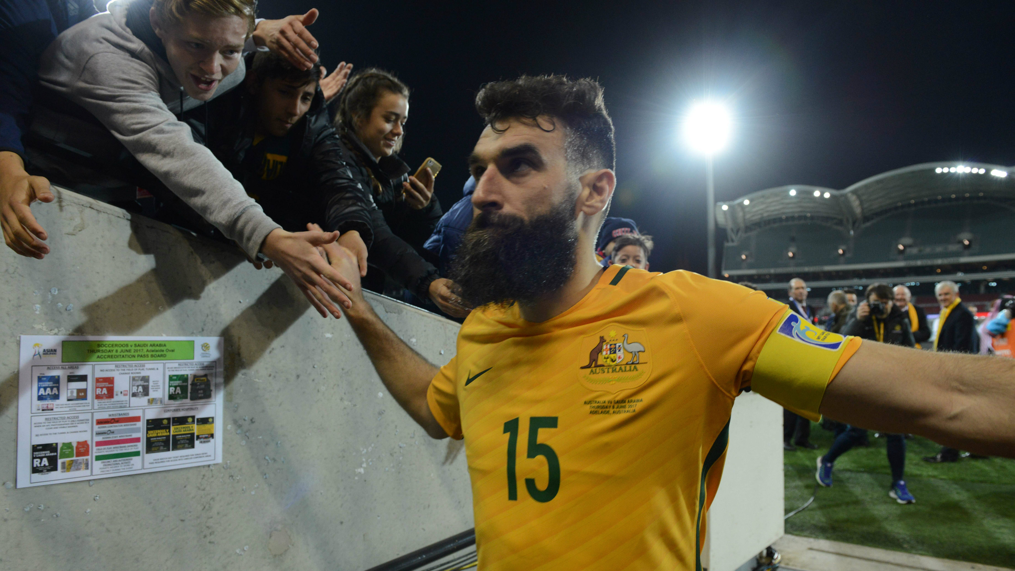 Mile Jedinak may return for October's AFC World Cup qualification playoff with Syria.