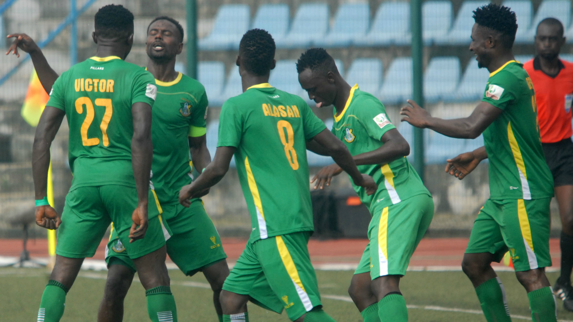 Npfl: Kano Pillars Beat ‎akwa United 2 0‎