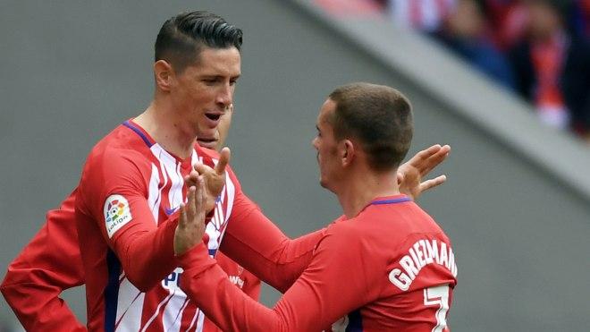 Fernando Torres Antoine Griezmann Atletico Madrid Levante LaLiga